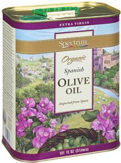 Spectrum Olive Oil Extra Virgin Organic Spanish