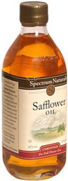Spectrum Natural Safflower Oil Expeller Pressed, Unrefined