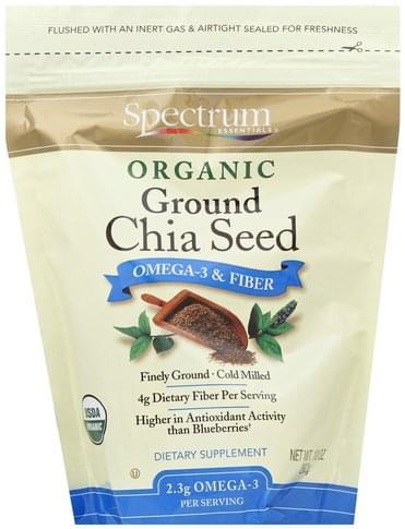Spectrum Organic, Ground Chia Seed - 10 oz