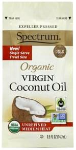 Spectrum Coconut Oil Organic, Virgin