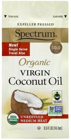 Spectrum Organic, Virgin Coconut Oil - 0.5 oz