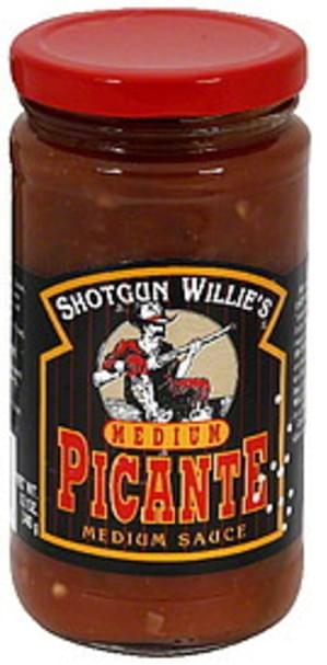 Shotgun Willies Medium Picante Sauce - 12 oz