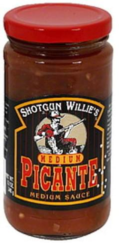 Shotgun Willies Picante Sauce Medium