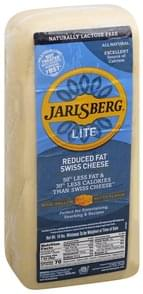 Jarlsberg Cheese Swiss Cheese, Reduced Fat