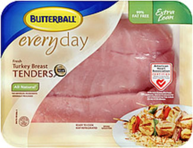 Butterball Everyday Fresh All Natural Turkey Breast Tenders - 0