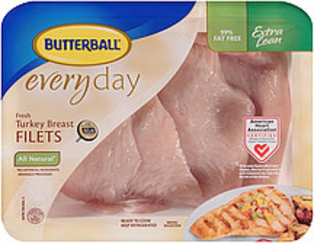 Butterball Everyday Fresh All Natural Turkey Breast Filets - 0