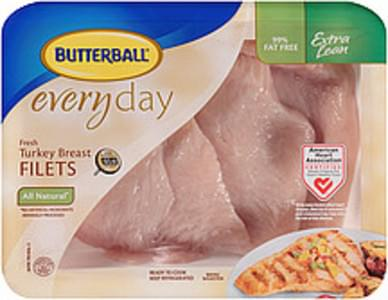 Butterball Turkey Breast Filets Everyday Fresh All Natural