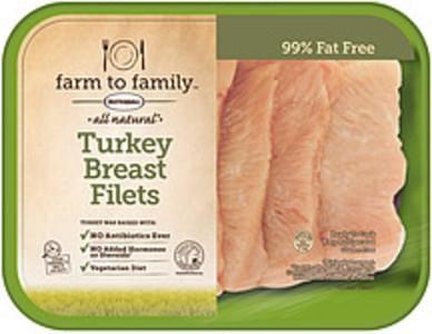 Farm to Family Turkey Breast Filets All Natural