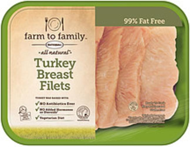 Farm to Family All Natural Turkey Breast Filets - 0