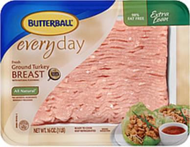 Butterball Ground Turkey Breast Everyday Fresh Extra Lean