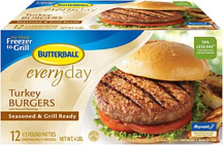 Butterball Turkey Burgers Club Pack