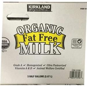 Natures Promise Organic Whole Milk - 0 5 gl, Nutrition