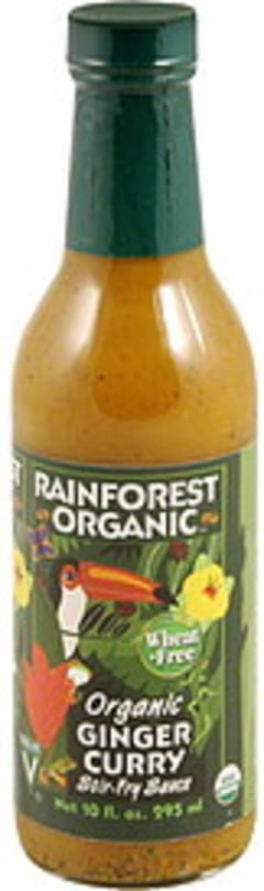 Rainforest Stir-Fry Sauce Ginger Curry