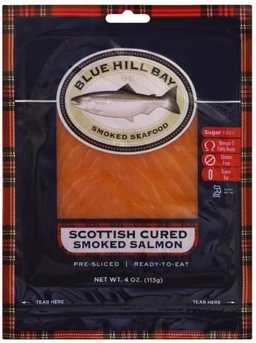 Blue Hill Bay Smoked, Scottish Cured Salmon - 4 oz