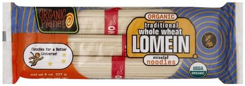 Organic Planet Organic, Traditional Whole Wheat Lo Mein - 8 oz