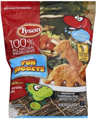 Nuggets Chicken Patties