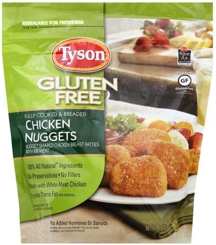 Tyson Gluten Free Chicken Nuggets - 18