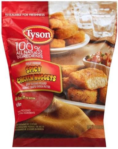 Tyson Spicy Chicken Nuggets - 27 oz