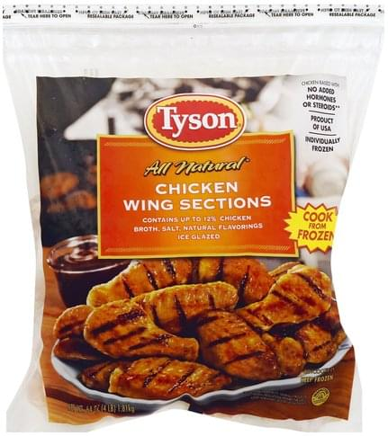 Tyson Chicken Wing Sections - 64 oz