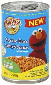 Earths Best Pasta & Sauce Organic Elmo