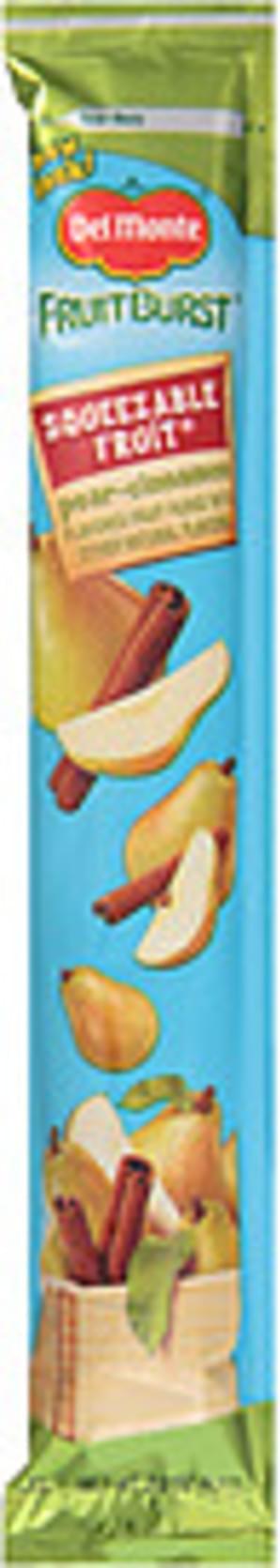 Del Monte Pear-Cinnamon Squeezable Fruit - 2.2 oz