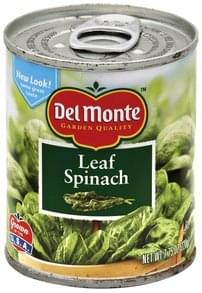 Del Monte Spinach Leaf