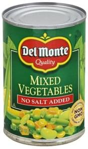Del Monte Mixed Vegetables No Salt Added