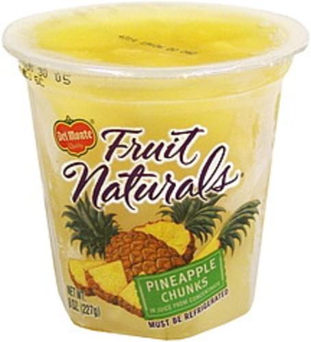 Del Monte in Juice from Concentrate Pineapple Chunks - 8 oz