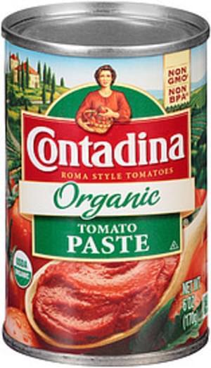Contadina Organic Tomato Paste - 6 oz