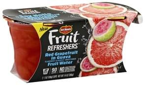 Del Monte Red Grapefruit in Guava Fruit Water, 2 Big Cups