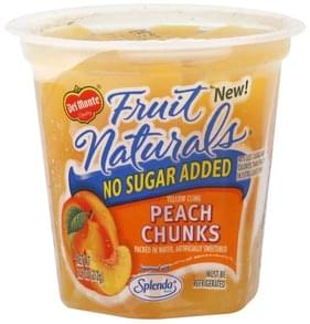 Del Monte Peach Chunks Yellow Cling, No Sugar Added
