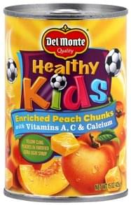 Del Monte Peach Chunks Enriched