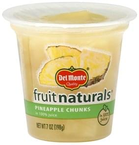 Del Monte Pineapple Chunks in 100% Juice