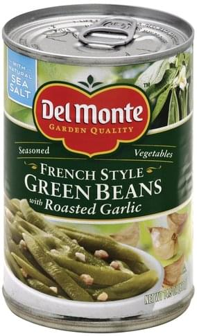 Del Monte French Style, with Roasted