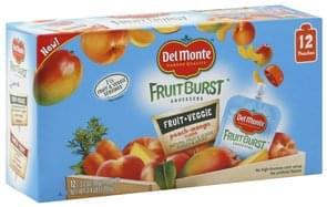 Del Monte Fruit & Veggie Purees & Juices Peach-Mango Flavor