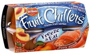 Del Monte Sorbet Frozen Fruit, Frosty Peach