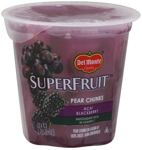 Del Monte Acai Blackberry Pear Chunks - 8 oz