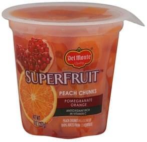 Del Monte Peach Chunks Pomegranate Orange