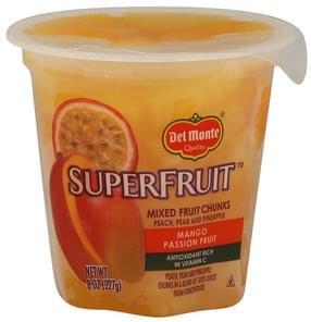 Del Monte Mixed Fruit Chunks Mango Passion Fruit