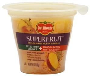 Del Monte Mixed Fruit Chunks in a Mango & Passion Fruit Juice Blend