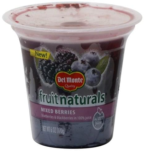 Del Monte Mixed Berries - 6 oz