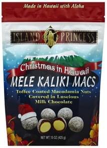 Island Princess Macadamia Nuts Toffee Coated