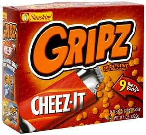 Cheez It Baked Snack Crackers Mighty Tiny