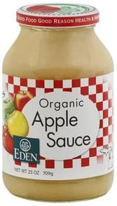 Eden Apple Sauce Organic