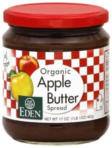 Eden Apple Butter Spread Organic