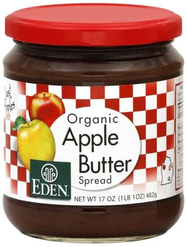 Eden Organic Apple Butter Spread - 17 oz