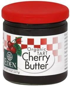 Eden Cherry Butter Organic Tart
