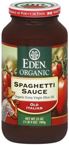 Eden Old Italian Spaghetti Sauce - 25 oz
