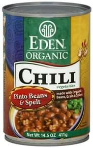 Eden Chili Organic, Vegetarian, Pinto Bean