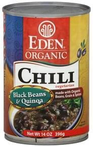 Eden Chili Organic, Vegetarian, Black Beans & Quinoa